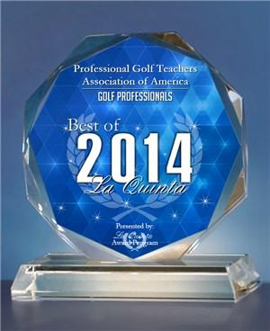 Professional Golf Teachers Association of America Receives 2014 Best of La Quinta Award