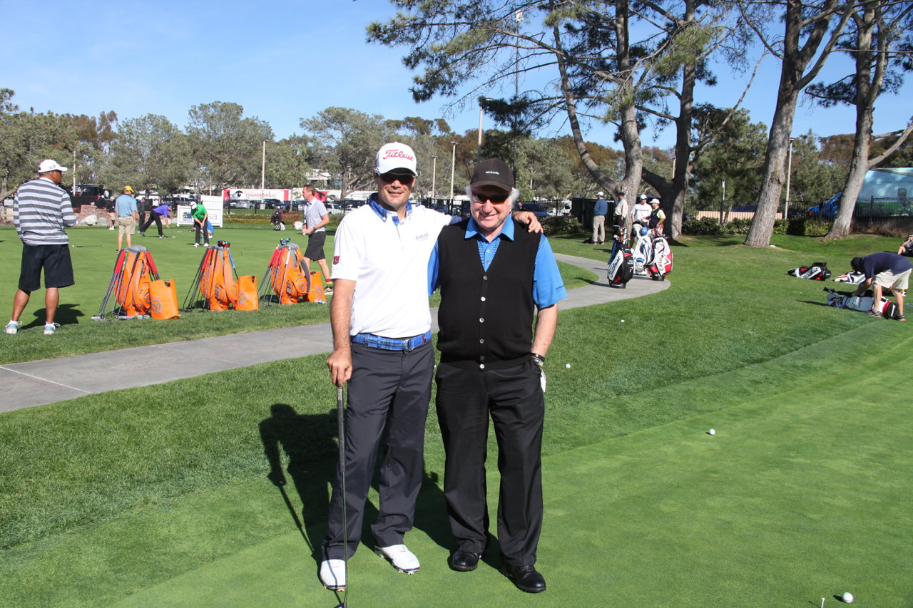 Tyrone Van Aswegan and Me at Torrey Pines