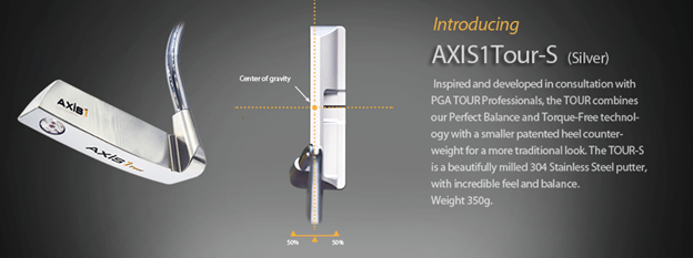 Axis1 Tour Putter- The Perfectly Balanced Putter