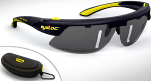 Eyeloc Glasses are designed for beginner golfers who want to improve their putting, chipping, and swing.